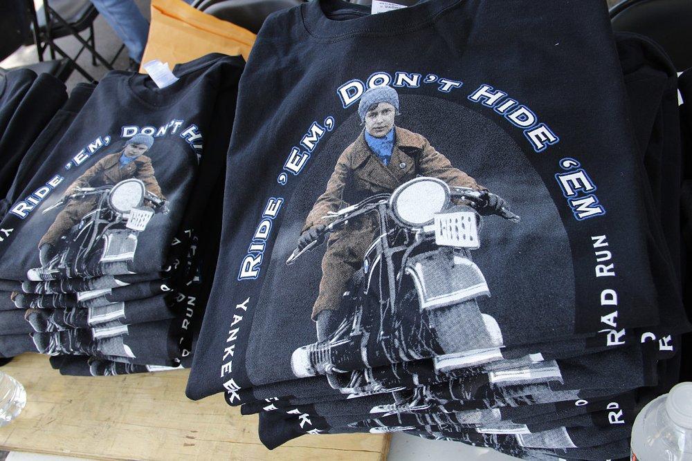 Ride 'em don't hide 'em