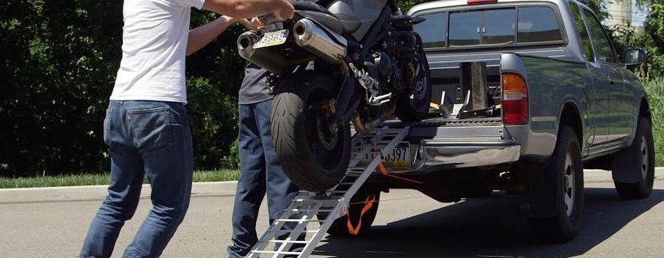 How To Load A Motorcycle Into A Truck Tips And Tricks