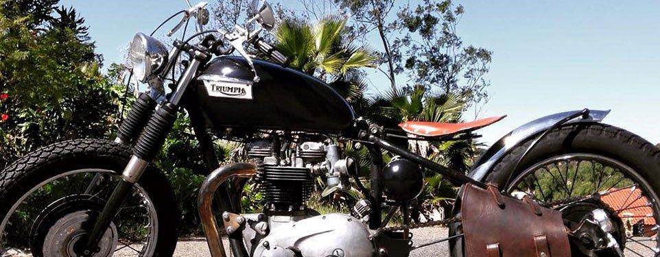 Spied: Triumph Bonneville bobber