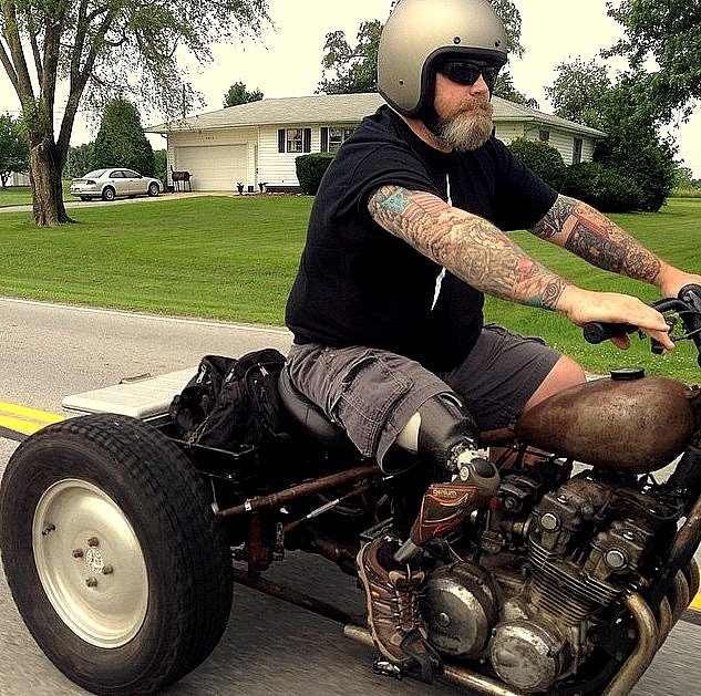 Mike on the trike