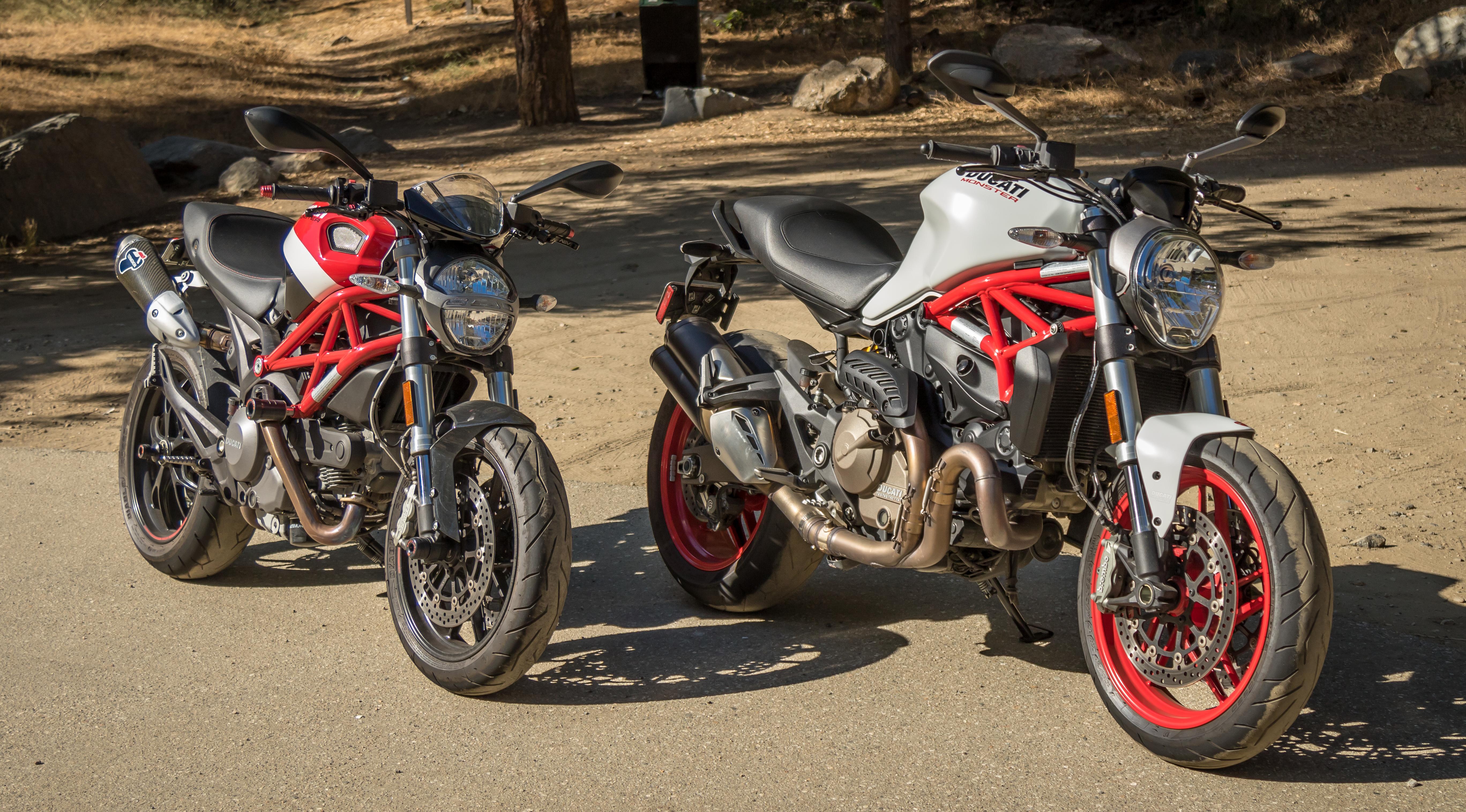 2015 Ducati Monster 821 review - RevZilla
