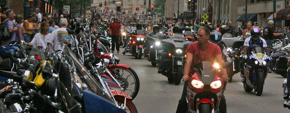 Indy loves motorcycles, riders love Indy