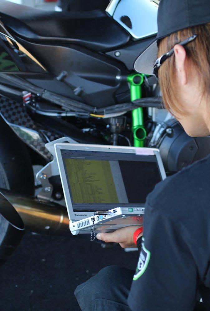 Kawasaki engineer