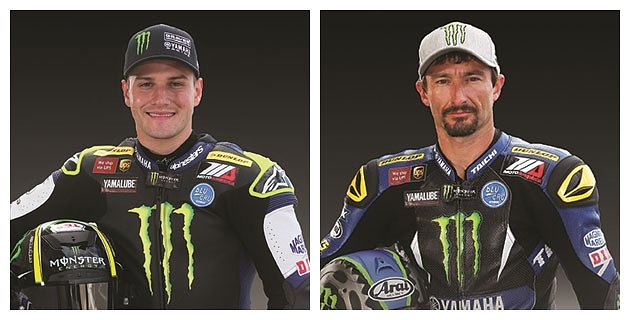 Monster Energy Graves Yamaha riders