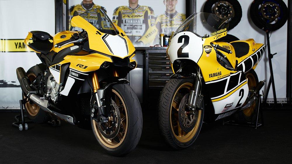 Yamaha R1 and YZR500