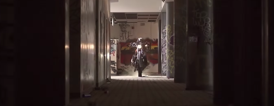 Video: Urban exploration meets motorcycle tag