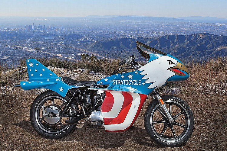 Evel Knievel Stratocycle