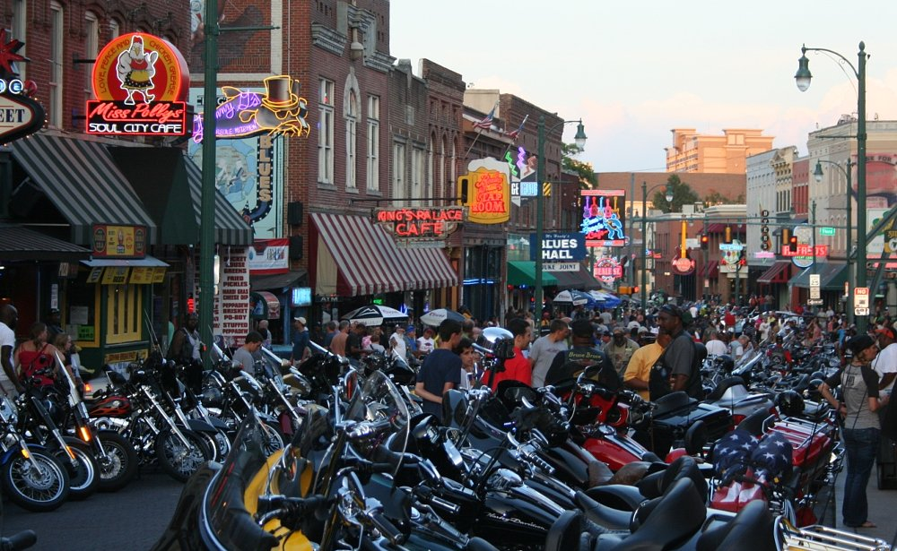 Bike Night on Beale Street