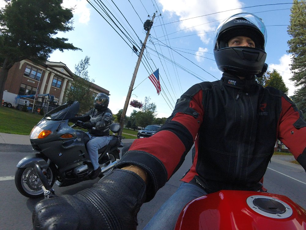 riding in Old Forge