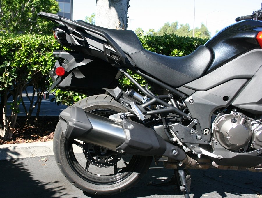Kawasaki Versys 1000 LT saddlebag mounts