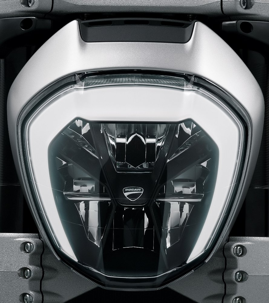 Ducati Diavel headlight