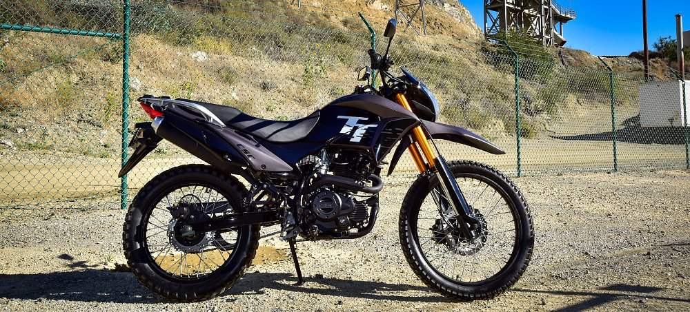 A new dual-sport motorcycle for $1,895?