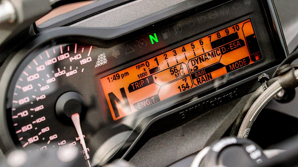 BMW R 1200 RS TFT Display