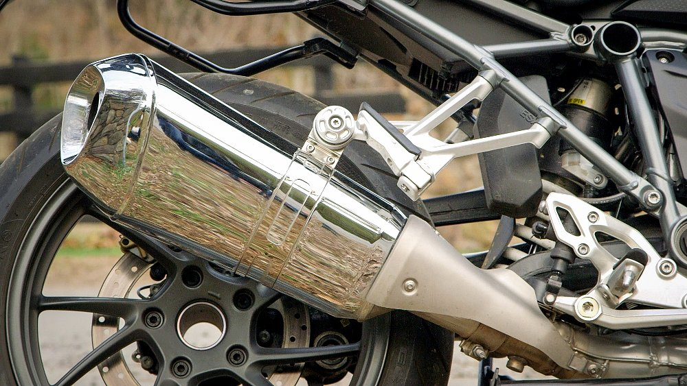 BMW R 1200 RS Exhaust