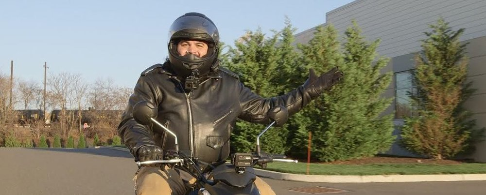 How to ride a motorcycle: A (don't) crash course