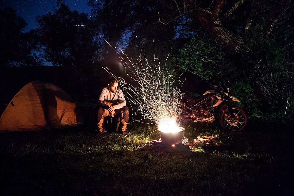 camping in the Catskill Mountains