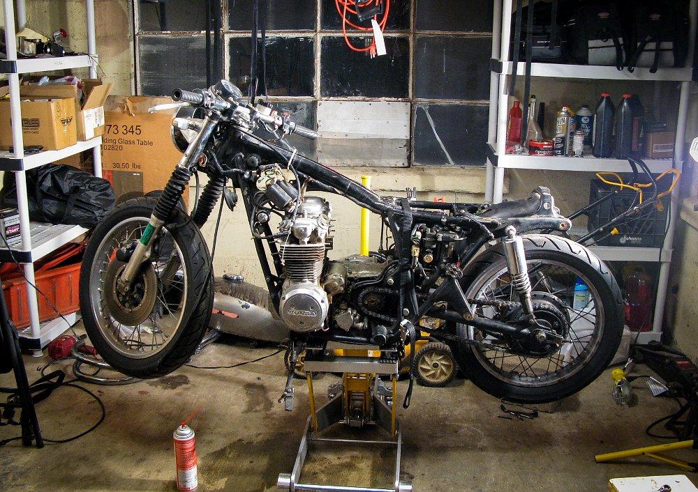 Spurgeon's project bike