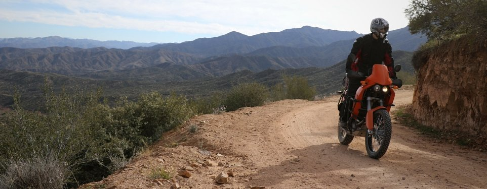 Day ride in an Arizona off-road adventureland