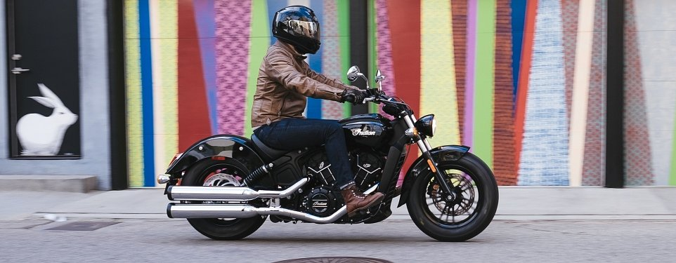Indian Scout Sixty first ride