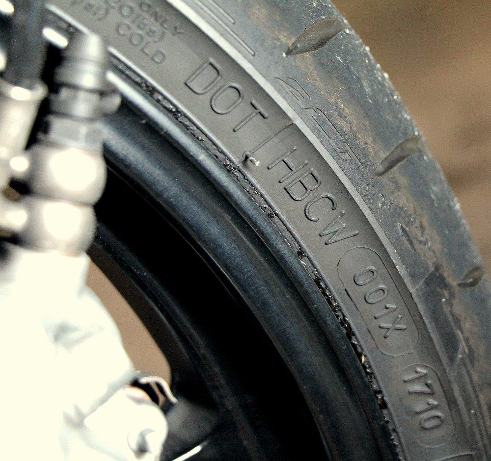 Tire DOT codes