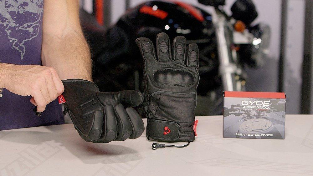 Heated gloves