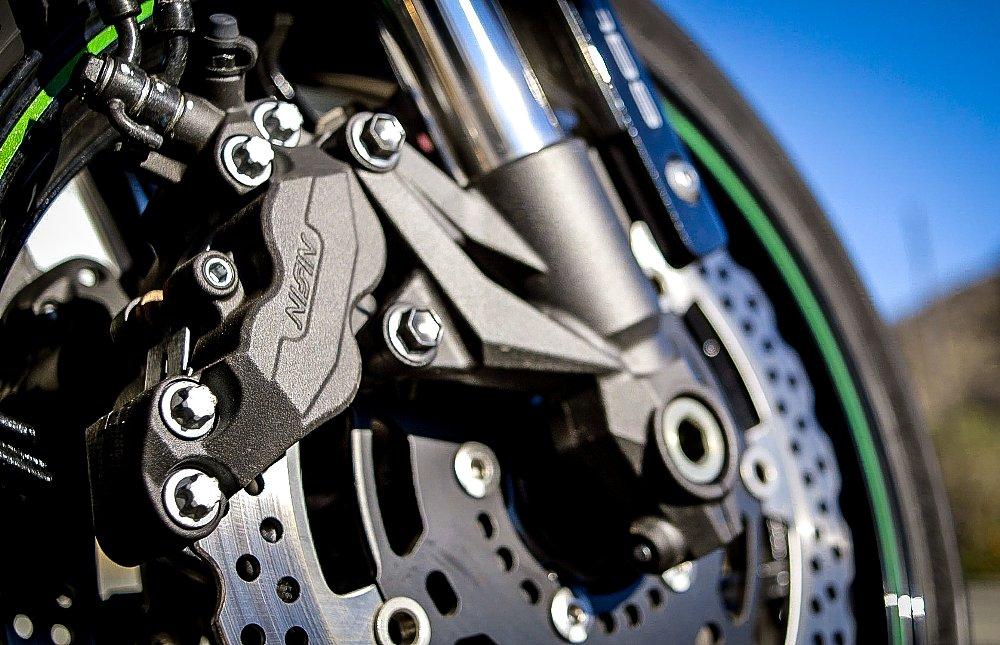 Kawasaki Z800 Brakes