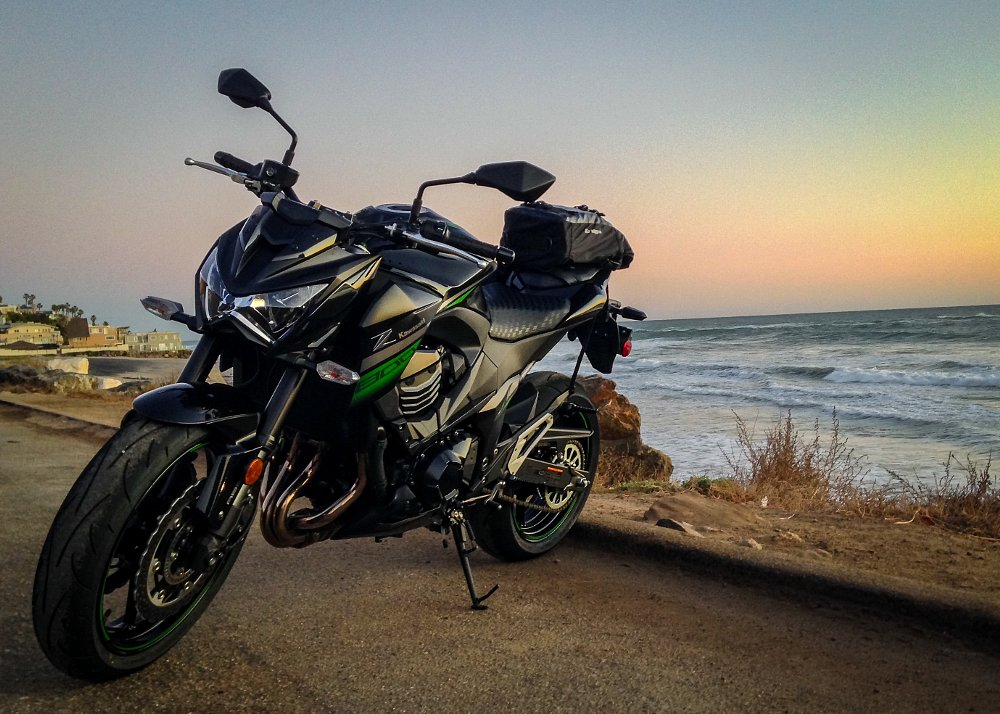 Kawasaki Z800 Pacific Coast Highway