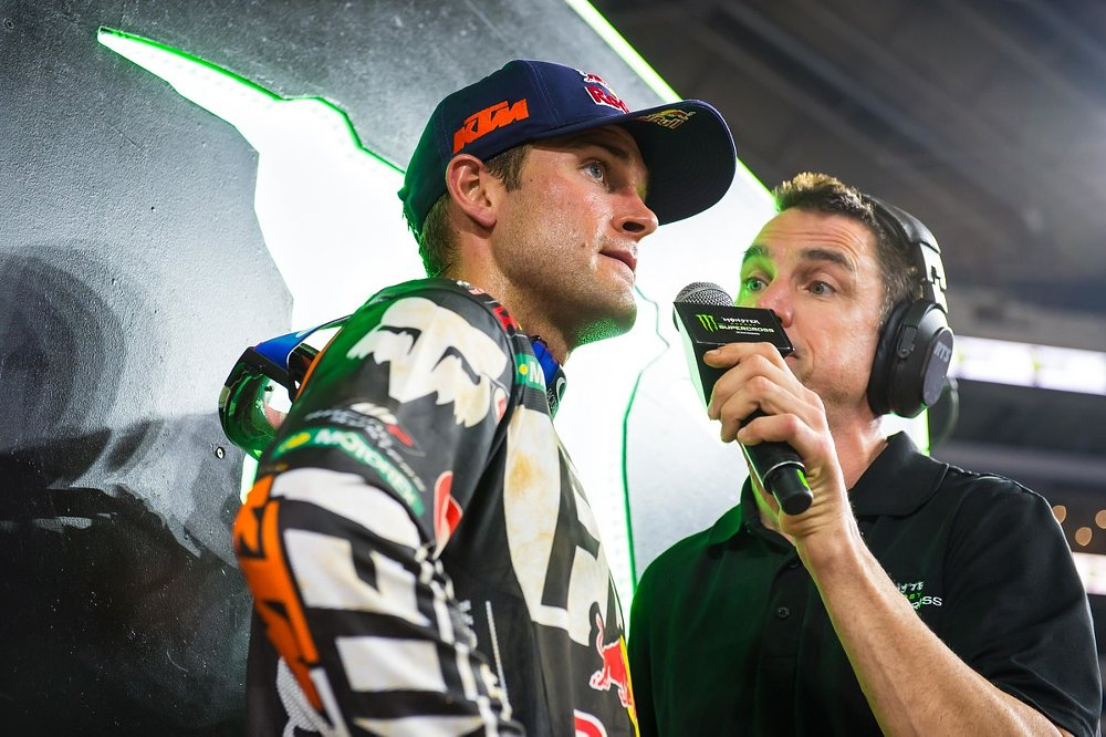 Ryan Dungey podium interview
