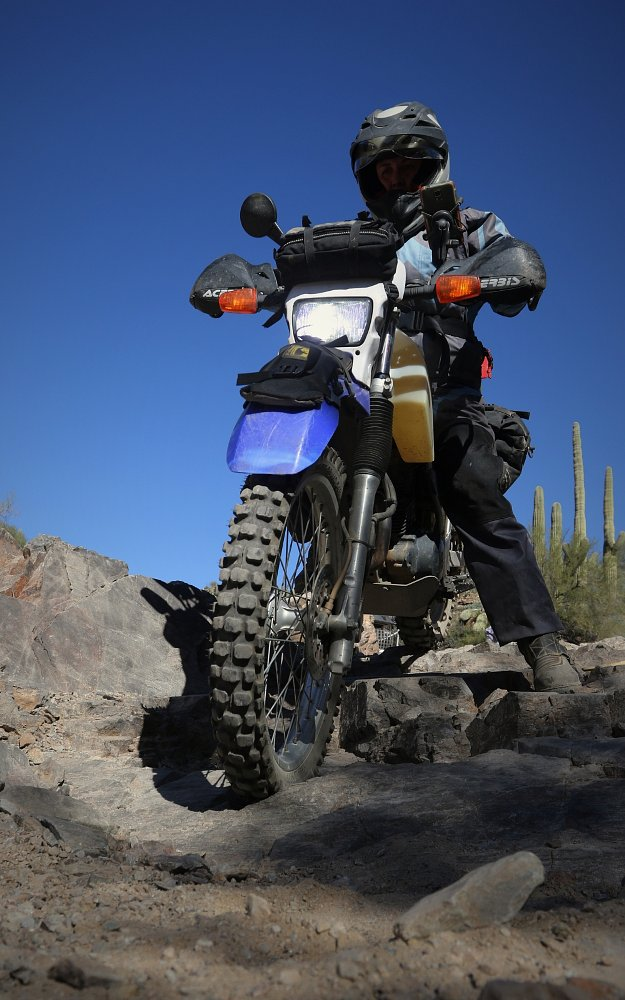 off-road riding