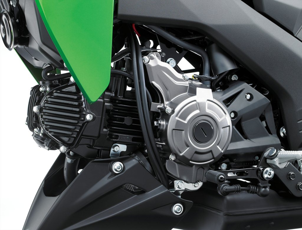 Kawasaki Z125 Pro Street Legal Monkey Bike Comes To The Us Revzilla 125cc Engine Diagram