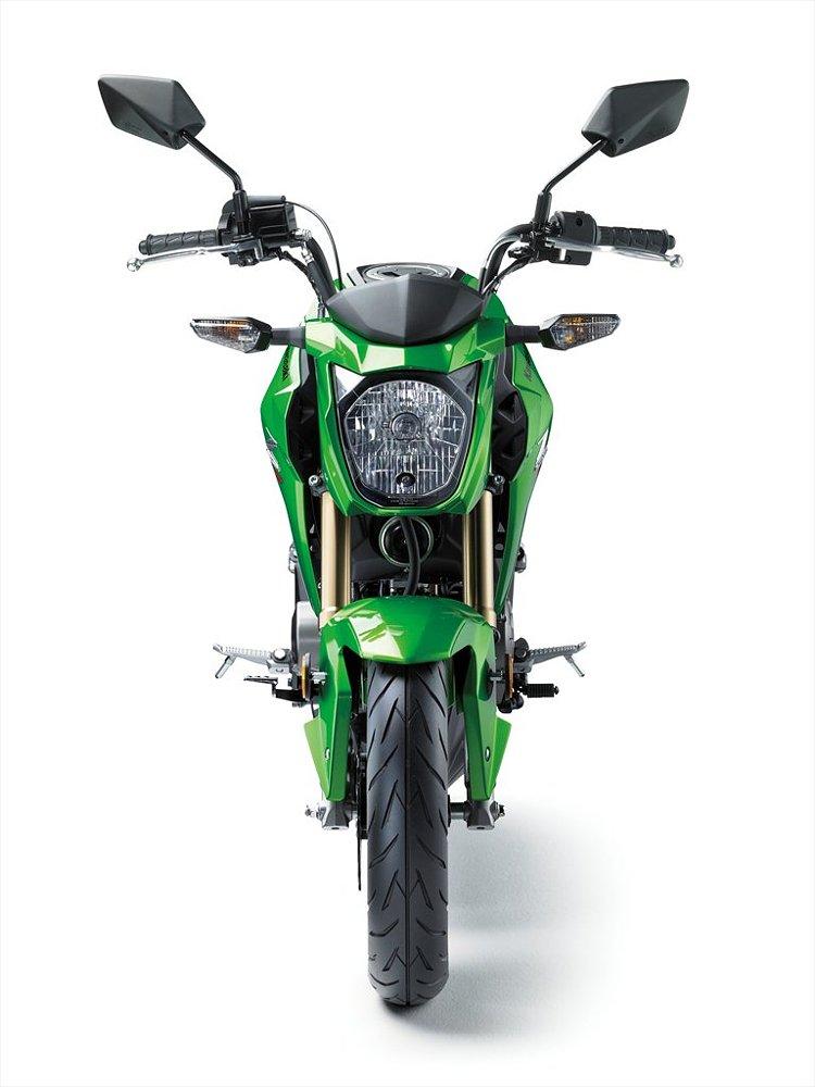Kawasaki Z125 front