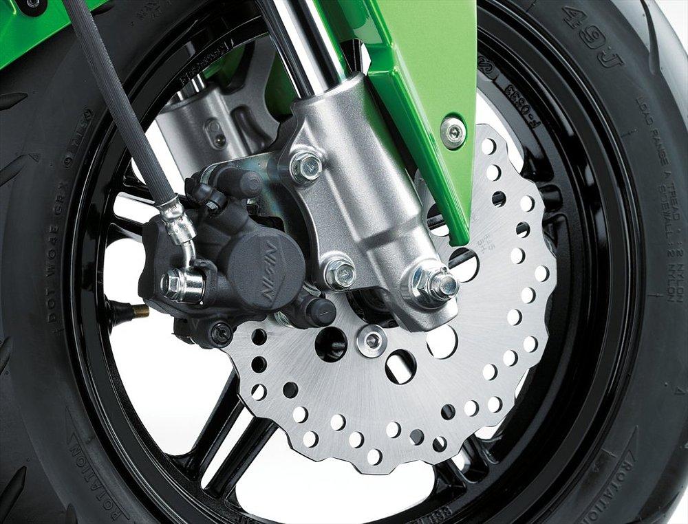 Kawasaki Z125 Pro front brake