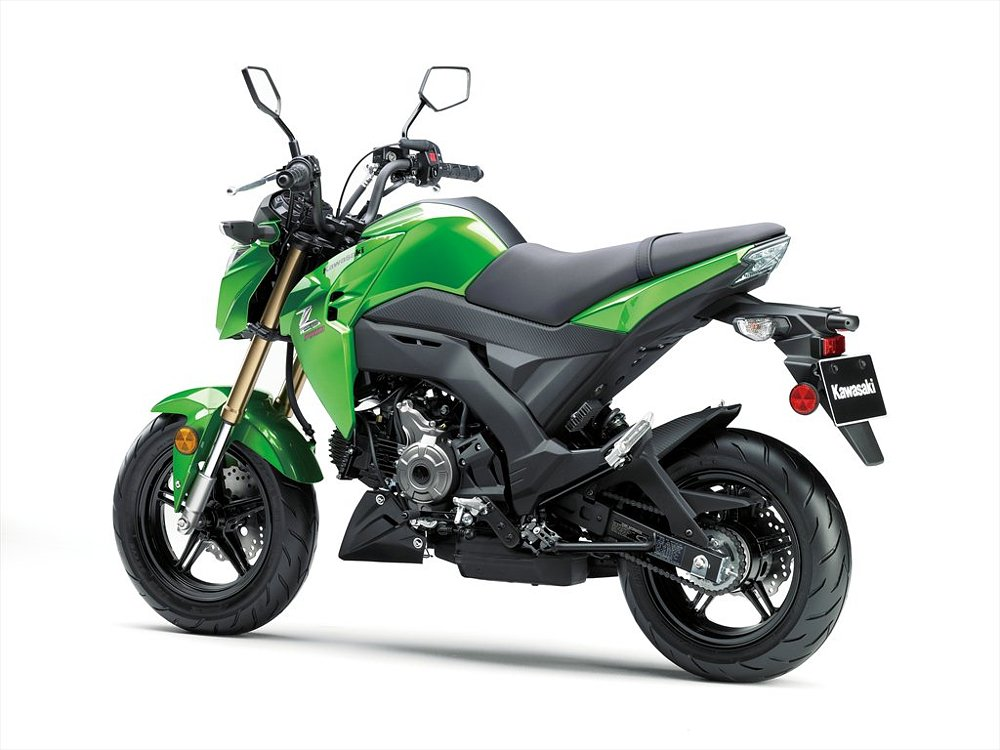 Kawasaki Z125 Pro Street Legal Monkey Bike Comes To The U
