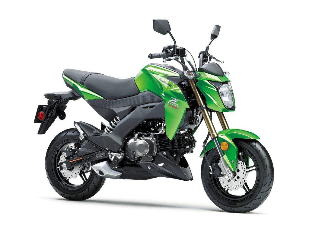 Kawasaki Z125 Pro Street Legal Monkey Bike Comes To The Us Revzilla 125cc Engine Diagram