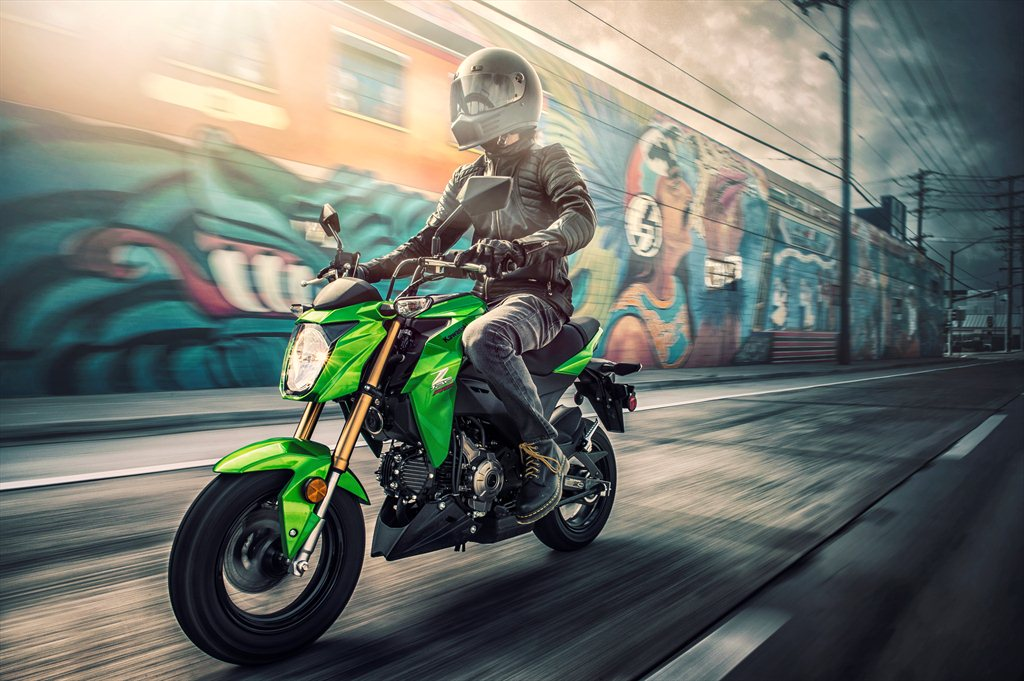 Kawasaki Z125 Pro street-legal monkey bike comes to the U S