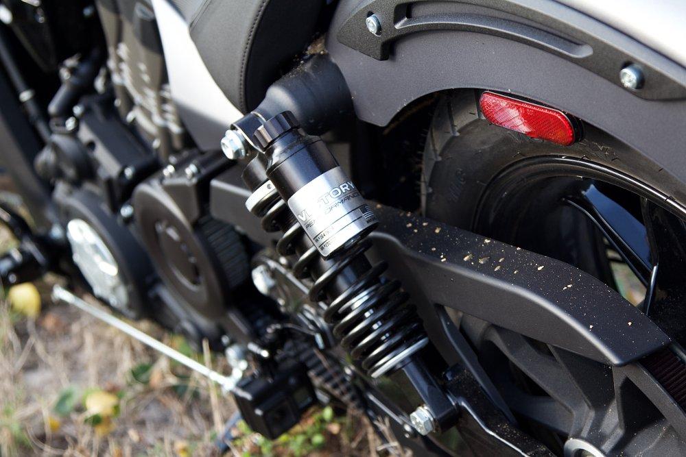 Victory Octane optional rear shocks
