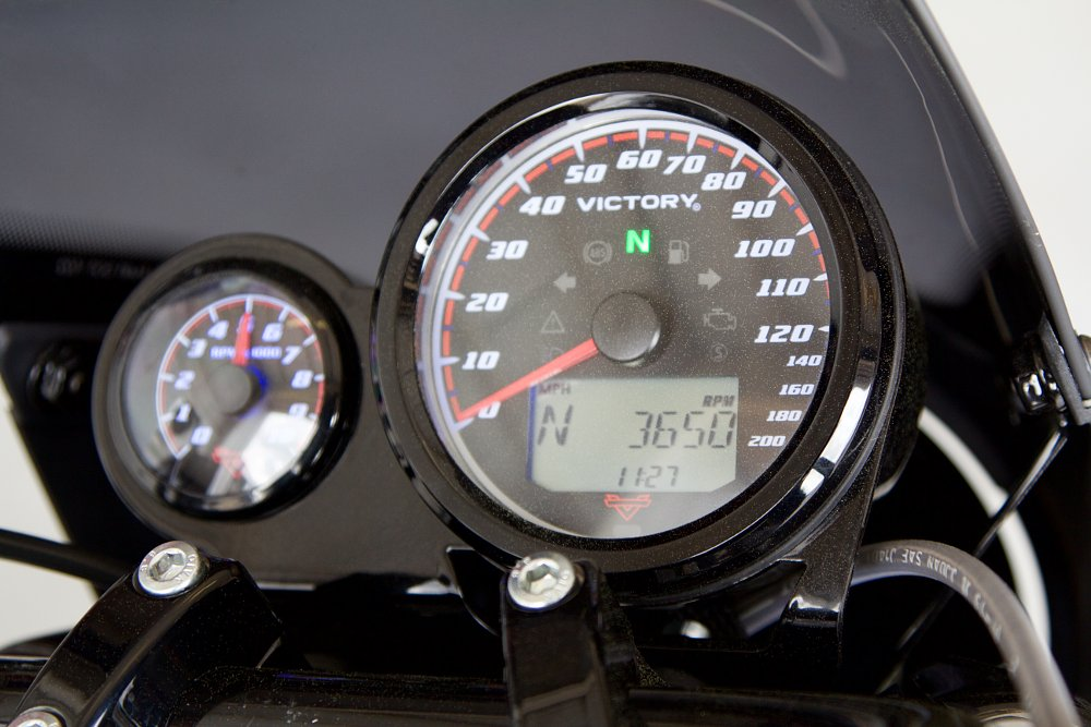 Victory Octane tachometer