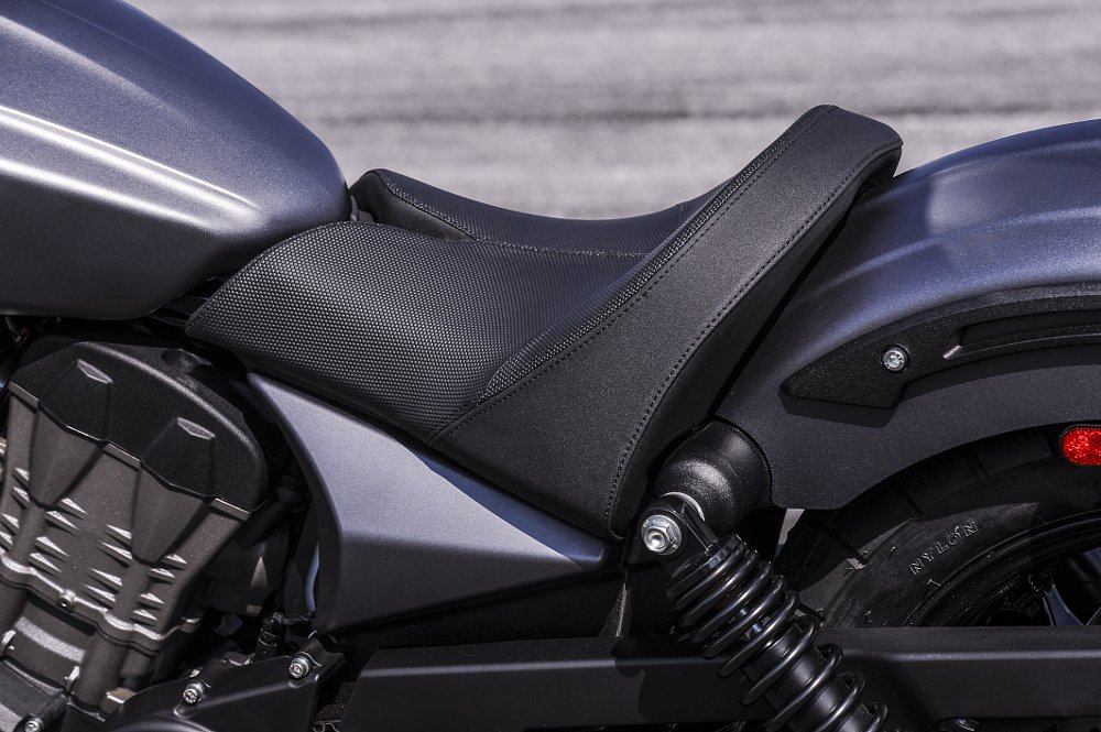 Victory Octane seat and rear fender