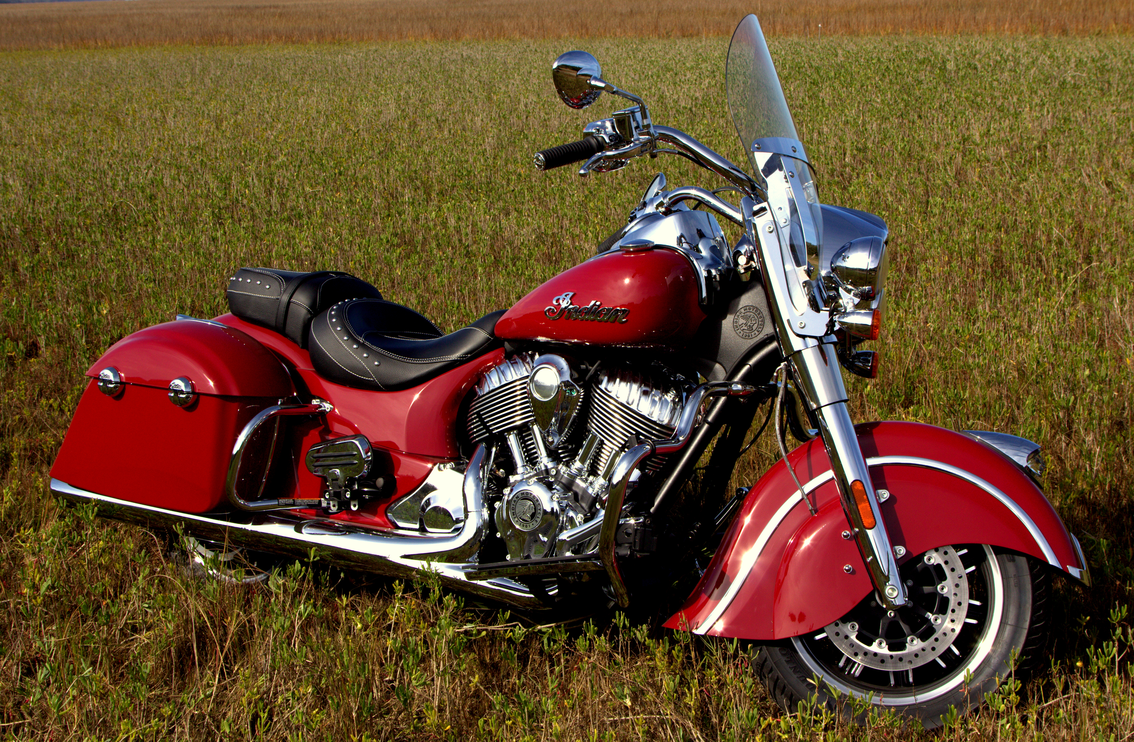 2016 Indian Springfield First Ride Review Revzilla