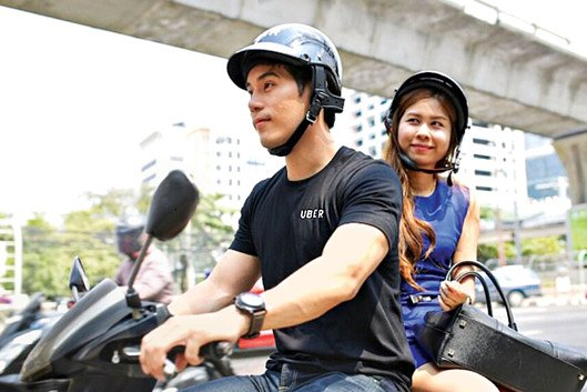 Uber riders.