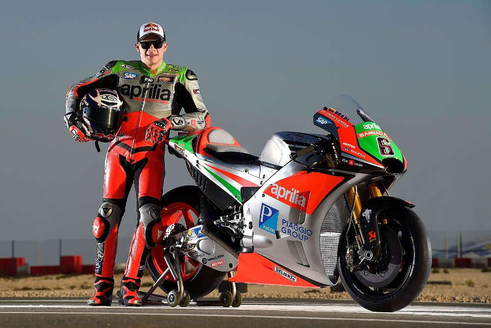 Aprilia RS-GP and Stefan Bradl