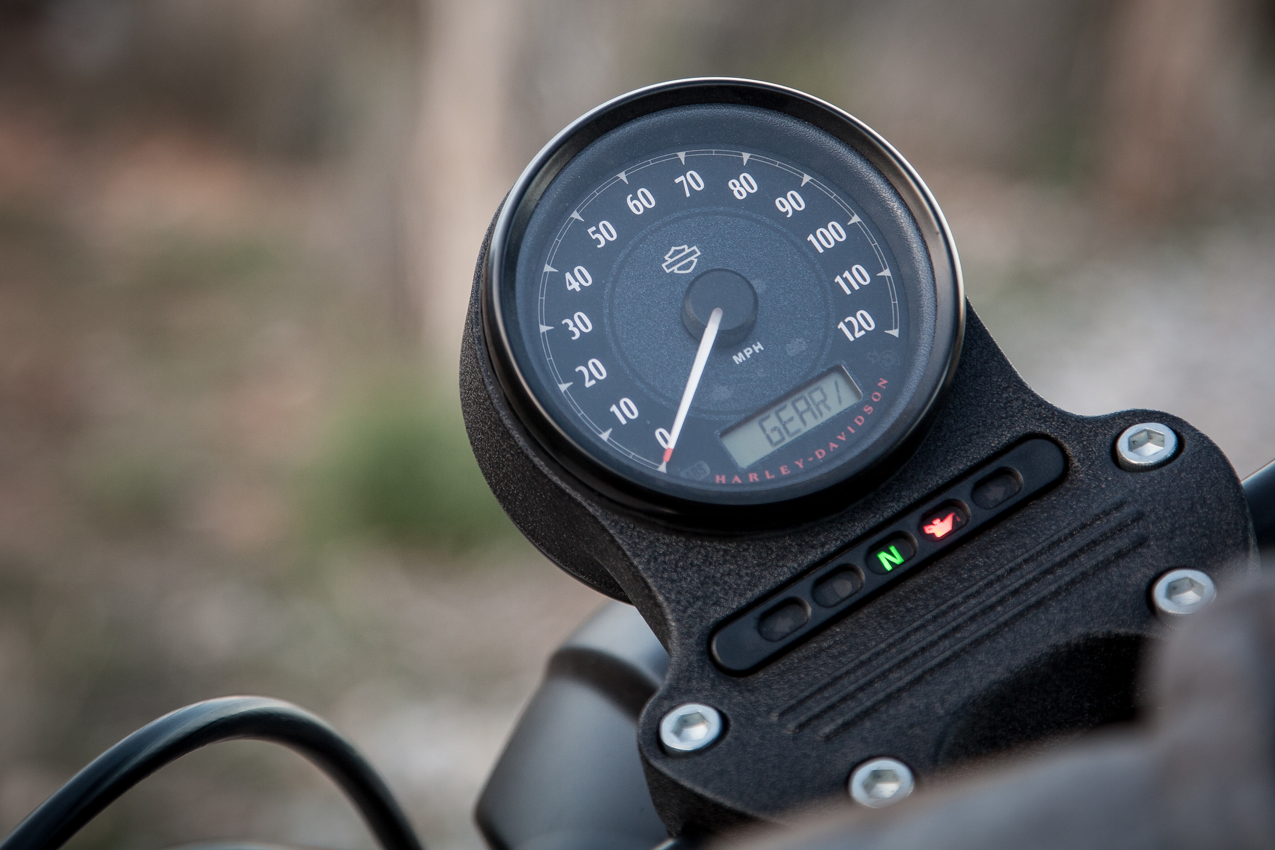 2016 Harley Davidson Sportster Iron 883 Review Revzilla Pro Cycle Tach Wiring Motorcycle