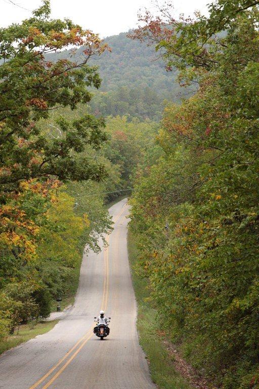 riding in Arkansas