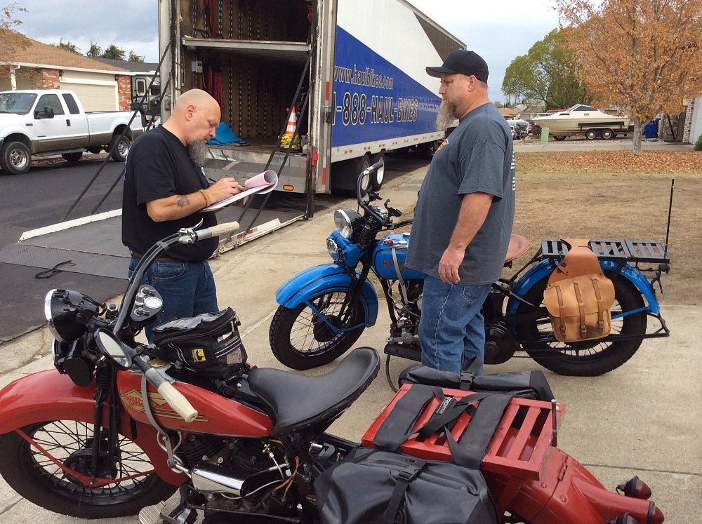 inspection of motorcycle