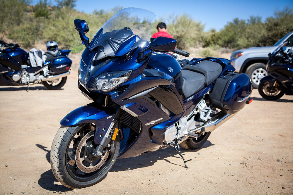 Spurgeon Dunbar Yamaha FJR 1300