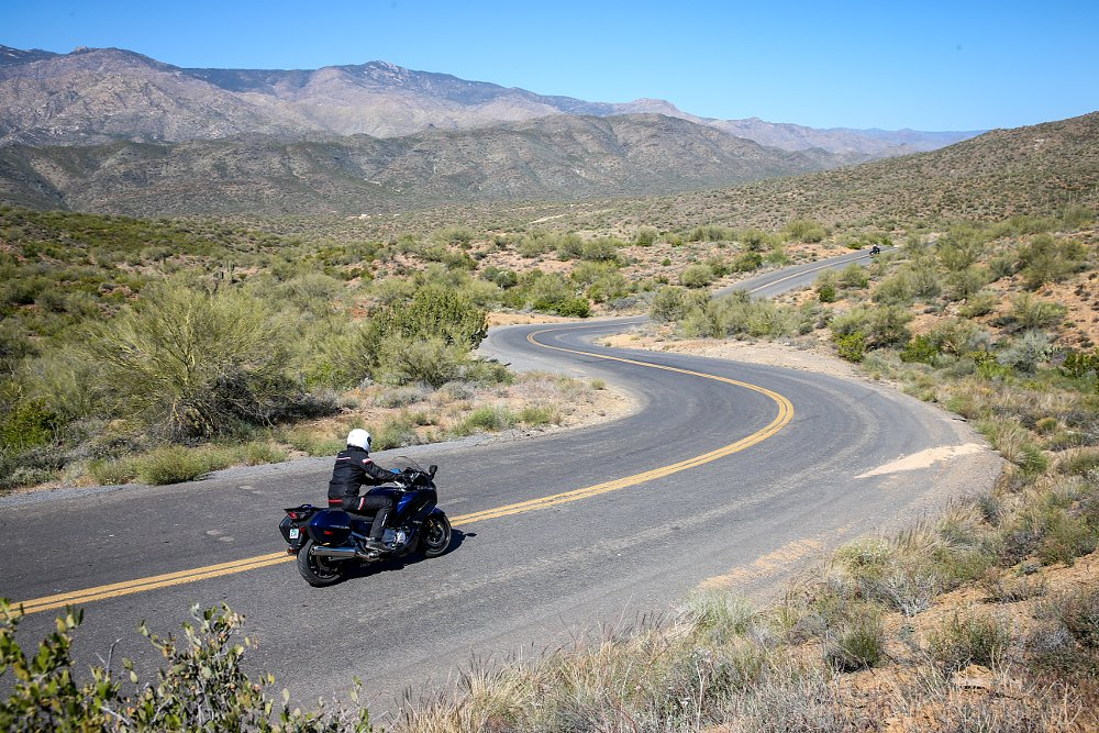 Yamaha FJR 1300 Arizona Roads