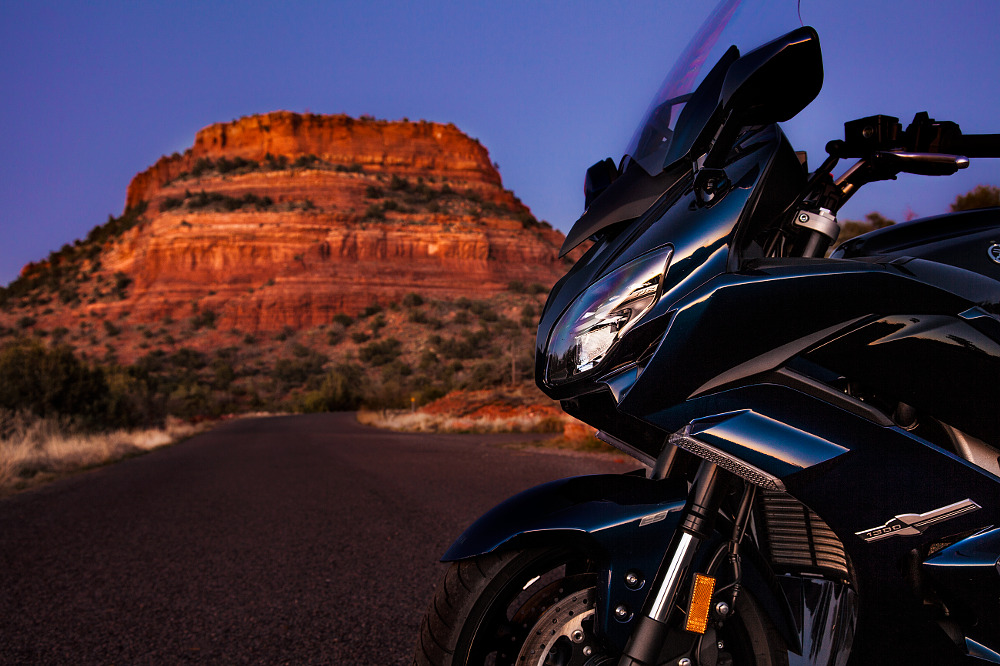 Yamaha FJR1300 Sedona Arizona