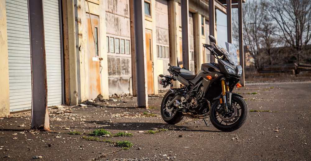 The FJ-09: Yamaha's other sport-touring bike