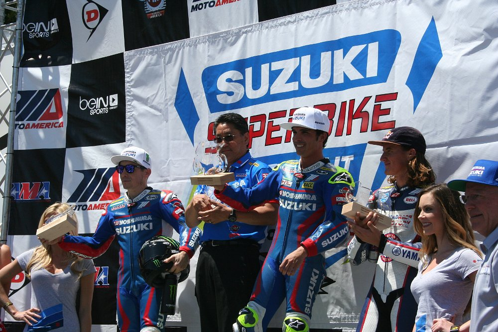 Podium at Road Atlanta