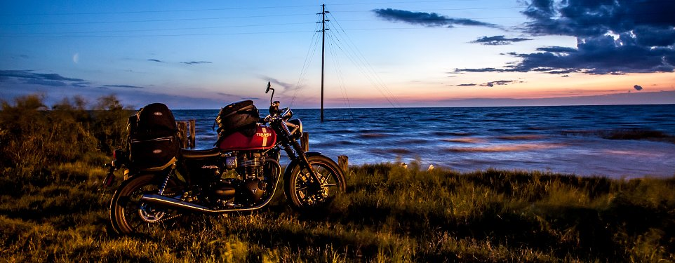 The Long Way To Austin On A Triumph Street Twin